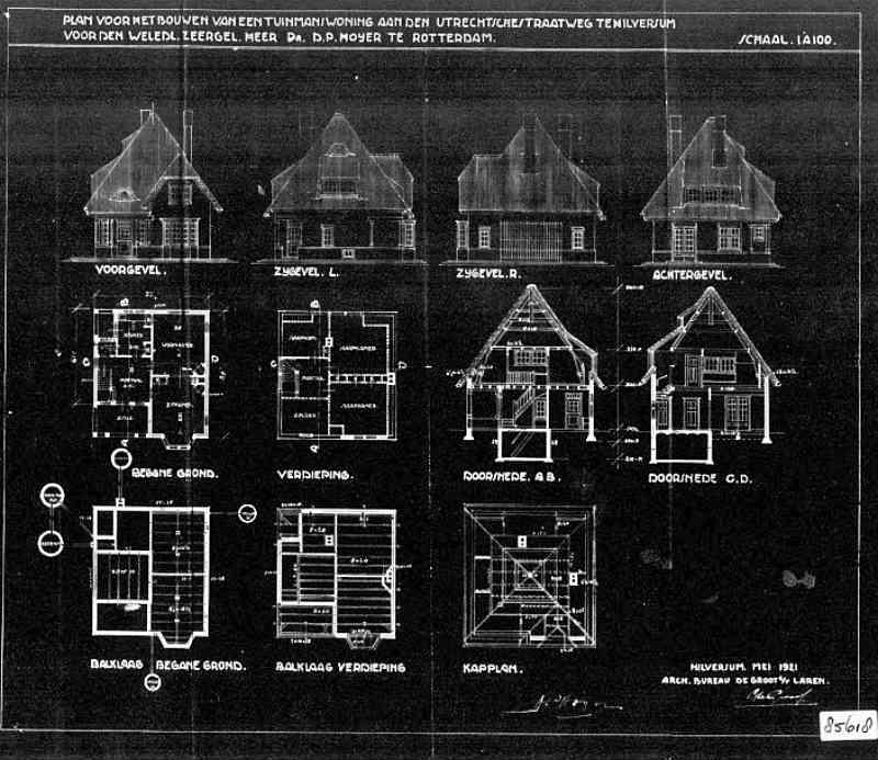 Utrechtseweg+nr+195-197+1921
